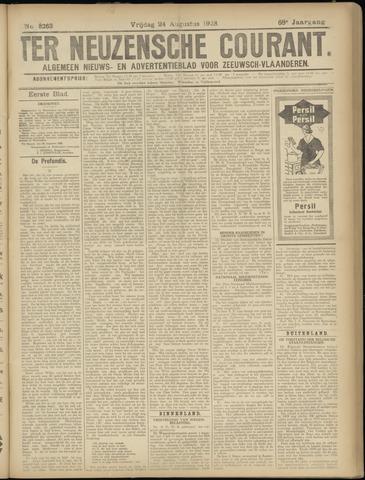 Ter Neuzensche Courant. Algemeen Nieuws- en Advertentieblad voor Zeeuwsch-Vlaanderen / Neuzensche Courant ... (idem) / (Algemeen) nieuws en advertentieblad voor Zeeuwsch-Vlaanderen 1928-08-24