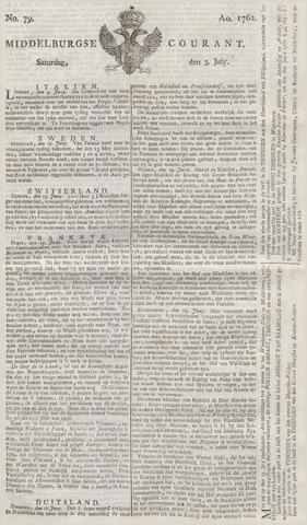 Middelburgsche Courant 1762-07-03
