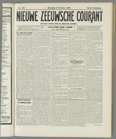 Nieuwe Zeeuwsche Courant 1908-10-17