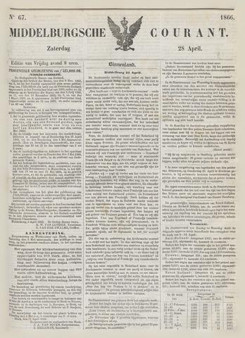 Middelburgsche Courant 1866-04-28