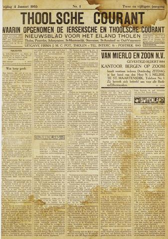 Ierseksche en Thoolsche Courant 1935
