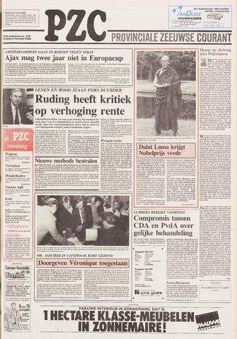 Provinciale Zeeuwse Courant 1989-10-06