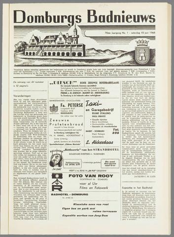 Domburgsch Badnieuws 1968