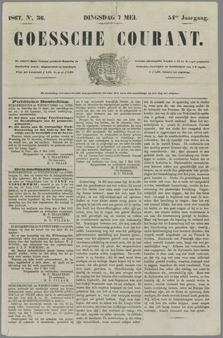 Goessche Courant 1867-05-07