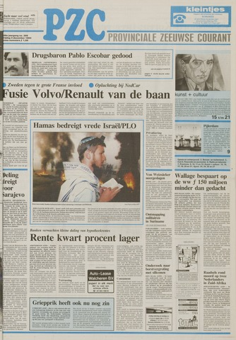 Provinciale Zeeuwse Courant 1993-12-03