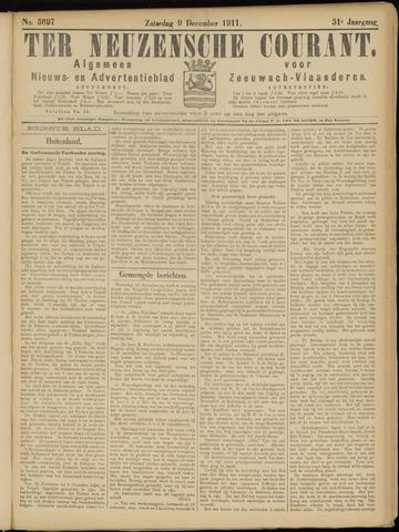 Ter Neuzensche Courant. Algemeen Nieuws- en Advertentieblad voor Zeeuwsch-Vlaanderen / Neuzensche Courant ... (idem) / (Algemeen) nieuws en advertentieblad voor Zeeuwsch-Vlaanderen 1911-12-09