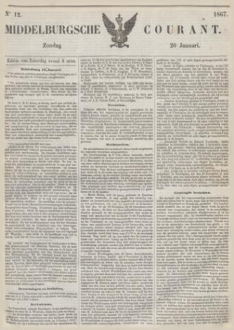 Middelburgsche Courant 1867-01-20