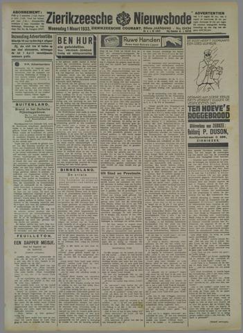 Zierikzeesche Nieuwsbode 1933-03-01