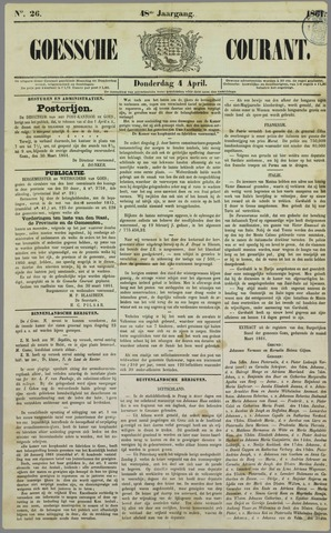 Goessche Courant 1861-04-04