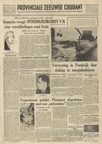 Provinciale Zeeuwse Courant 1957-10-17
