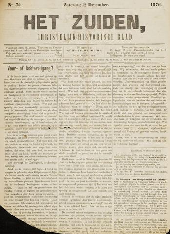 Het Zuiden, Christelijk-historisch blad 1876-12-09