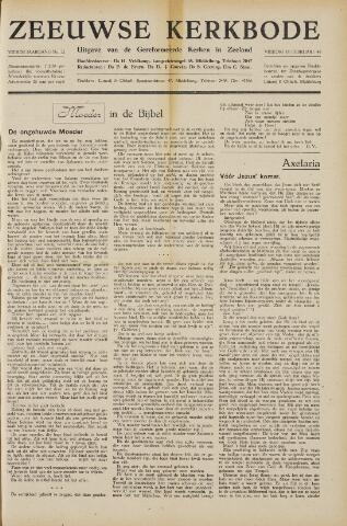 Zeeuwsche kerkbode, weekblad gewijd aan de belangen der gereformeerde kerken/ Zeeuwsch kerkblad 1949-02-18