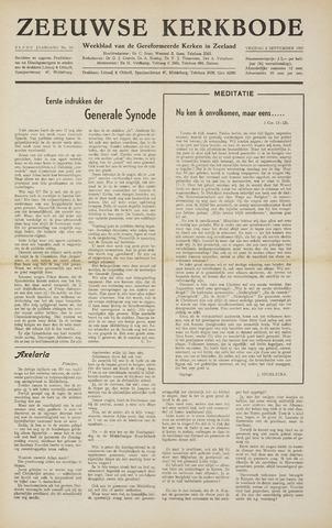 Zeeuwsche kerkbode, weekblad gewijd aan de belangen der gereformeerde kerken/ Zeeuwsch kerkblad 1955-09-02