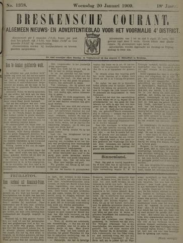 Breskensche Courant 1909-01-20