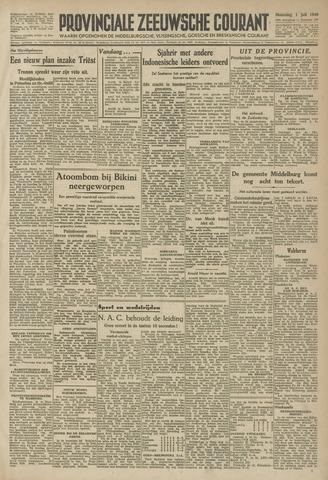 Provinciale Zeeuwse Courant 1946-07-01