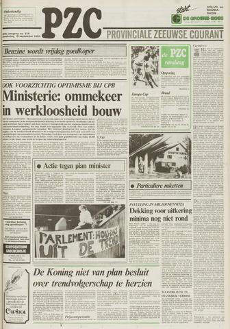 Provinciale Zeeuwse Courant 1983-09-15