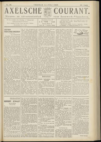 Axelsche Courant 1939-07-14