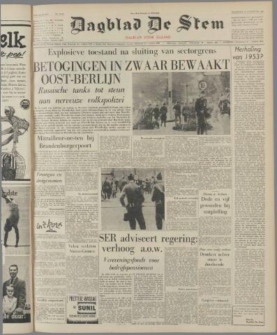de Stem 1961-08-14