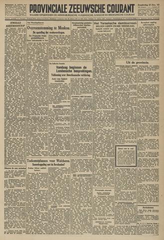 Provinciale Zeeuwse Courant 1945-12-27