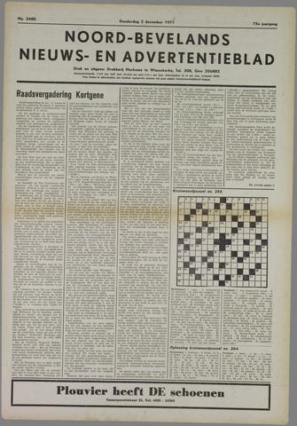 Noord-Bevelands Nieuws- en advertentieblad 1971-12-02