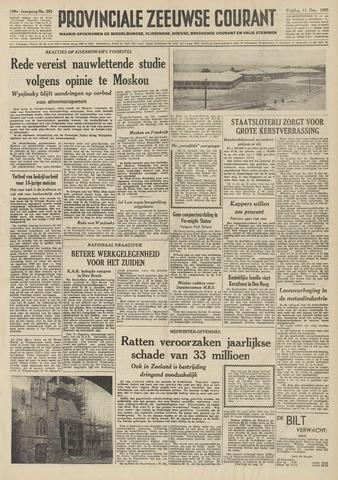 Provinciale Zeeuwse Courant 1953-12-11