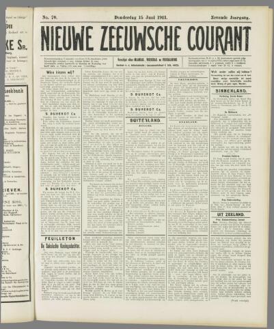 Nieuwe Zeeuwsche Courant 1911-06-15