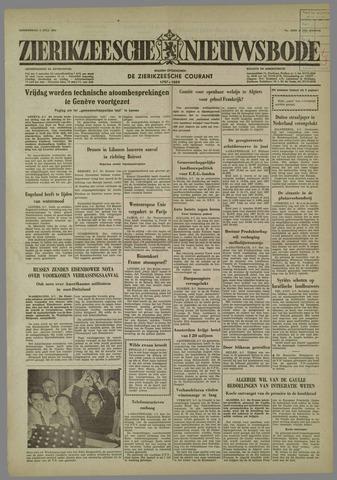 Zierikzeesche Nieuwsbode 1958-07-03