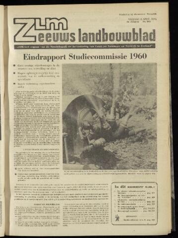 Zeeuwsch landbouwblad ... ZLM land- en tuinbouwblad 1962-04-06