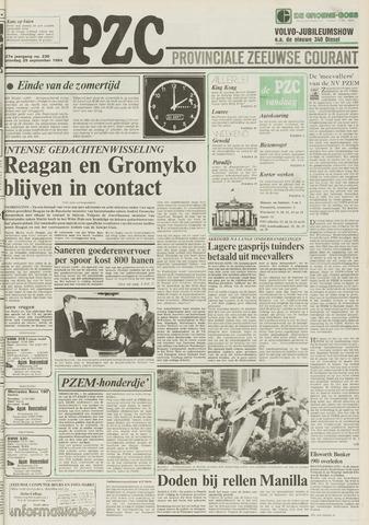 Provinciale Zeeuwse Courant 1984-09-29