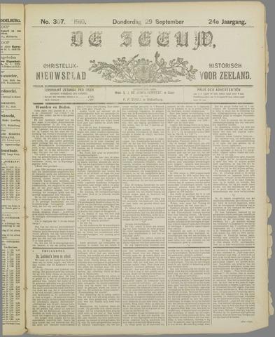 De Zeeuw. Christelijk-historisch nieuwsblad voor Zeeland 1910-09-29