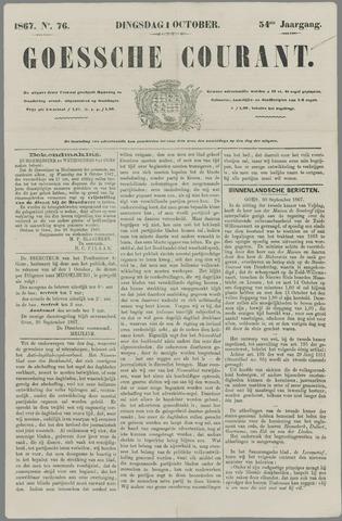 Goessche Courant 1867-10-01