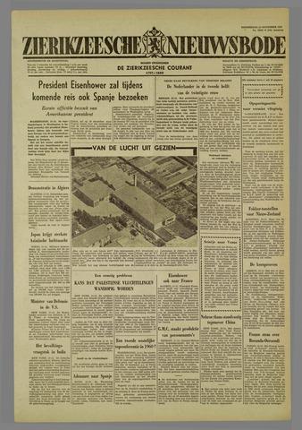 Zierikzeesche Nieuwsbode 1959-11-12