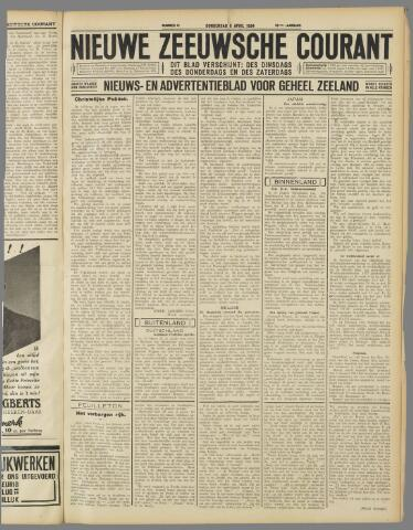 Nieuwe Zeeuwsche Courant 1934-04-05