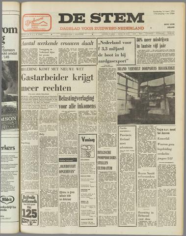 de Stem 1974-03-14