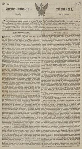 Middelburgsche Courant 1828