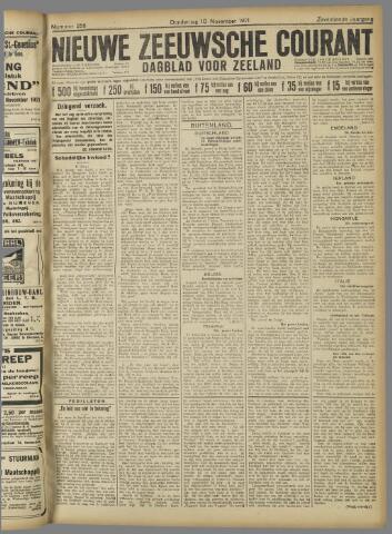 Nieuwe Zeeuwsche Courant 1921-11-10