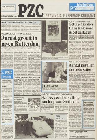 Provinciale Zeeuwse Courant 1985-11-27