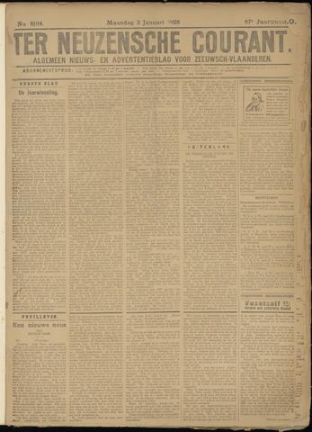 Ter Neuzensche Courant. Algemeen Nieuws- en Advertentieblad voor Zeeuwsch-Vlaanderen / Neuzensche Courant ... (idem) / (Algemeen) nieuws en advertentieblad voor Zeeuwsch-Vlaanderen 1928