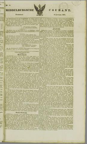 Middelburgsche Courant 1837-01-12