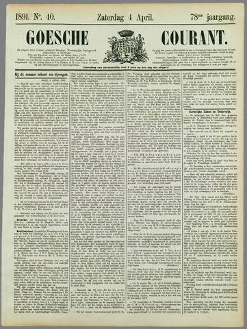 Goessche Courant 1891-04-04