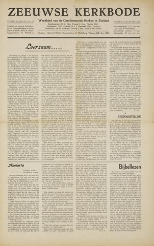 Zeeuwsche kerkbode, weekblad gewijd aan de belangen der gereformeerde kerken/ Zeeuwsch kerkblad 1955-03-25