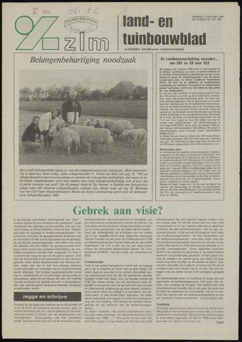 Zeeuwsch landbouwblad ... ZLM land- en tuinbouwblad 1990-01-05