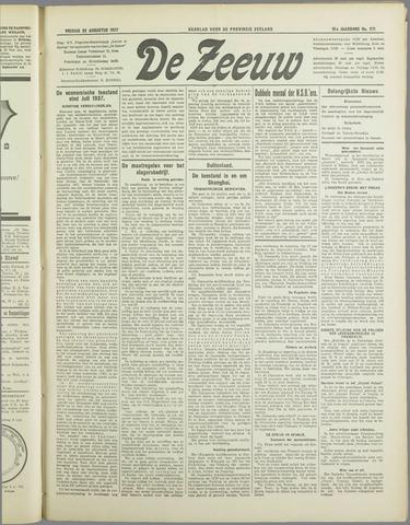 De Zeeuw. Christelijk-historisch nieuwsblad voor Zeeland 1937-08-20