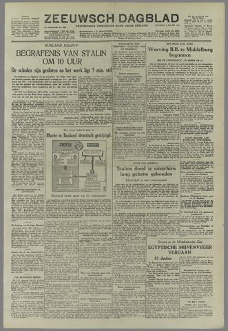 Zeeuwsch Dagblad 1953-03-09