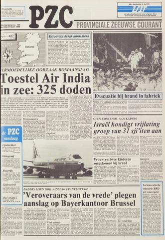 Provinciale Zeeuwse Courant 1985-06-24