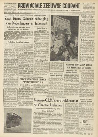 Provinciale Zeeuwse Courant 1957-02-11