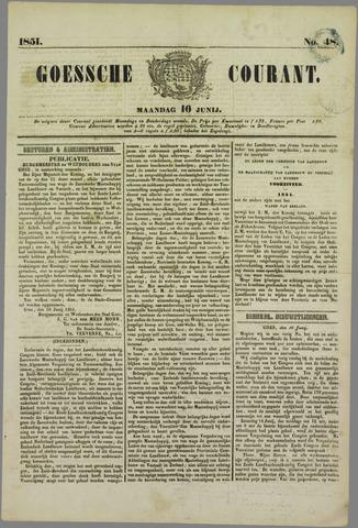 Goessche Courant 1851-06-16