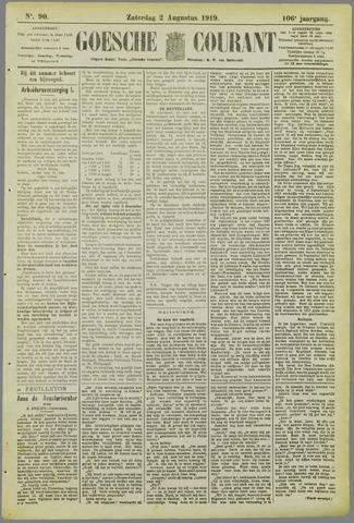 Goessche Courant 1919-08-02