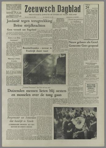 Zeeuwsch Dagblad 1958-08-29