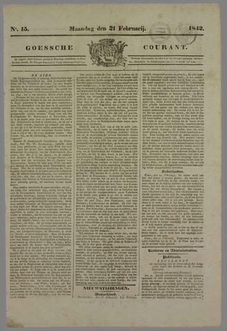 Goessche Courant 1842-02-21